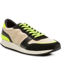 The Kooples - Leather Trainers - Lyst