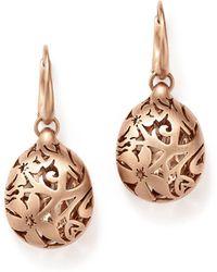 Pomellato - Arabesque Earrings In 18k Matte Rose Gold - Lyst