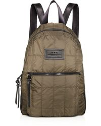 John Varvatos - Quilted Nylon Backpack - Lyst