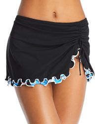 Gottex - Tidal Wave Skirted Bikini Bottom - Lyst