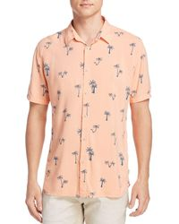 Barney Cools - Palm Tree Regular Fit Button-down Shirt - Lyst
