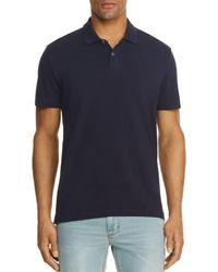 Velvet By Graham & Spencer Willis Regular Fit Polo Shirt - Blue