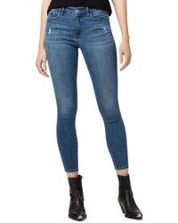 Sanctuary - Social Standard Ankle Skinny Jeans In Pure Spar - Lyst
