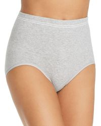 Yummie By Heather Thomson Cotton Seamless Shaping Brief - Gray