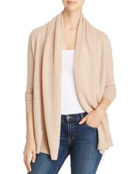 C By Bloomingdale's Open - Front Cashmere Cardigan - Natural