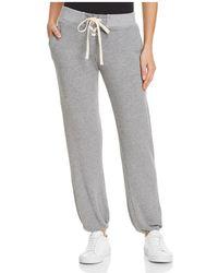 Monrow - Lace-up Sweatpants - Lyst