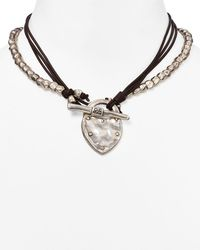 Uno De 50 The Secret Pendant Necklace - Metallic