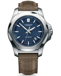 Victorinox I.n.o.x Mechanical Blue Dial Watch