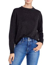 Aqua Rainbow Metallic Jumper - Black