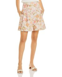 Rebecca Taylor Hollywood Floral Print Shorts - Multicolour
