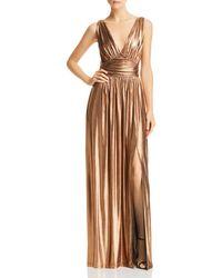 Rachel Zoe Ashley Metallic Goddess Gown
