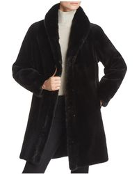 Maximilian - Reversible Sheared Mink Fur Coat - Lyst