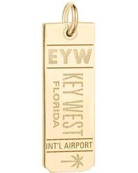 Jet Set Candy - Eyw Key West Luggage Tag Charm - Lyst