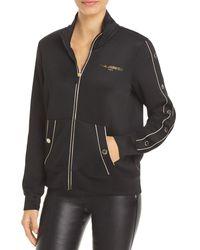 Karl Lagerfeld Track Jacket - Black