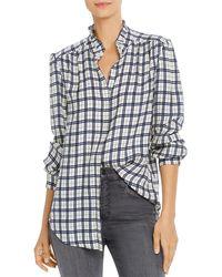 Joie Mintee Plaid Shirt - Multicolour