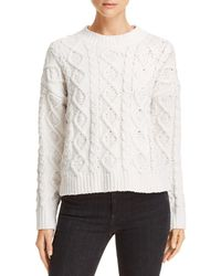 Honey Punch - Chenille Cable Knit Jumper - Lyst