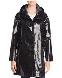 Stutterheim - Mosebacke Slicker Opal Raincoat - Lyst