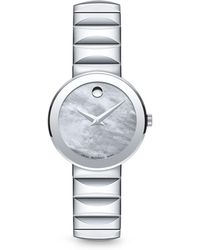 Movado - Mother-of-pearl Museum Dial Watch, 26mm - Lyst