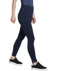 Lyssé Women's Denim Skinny Leggings - Blue
