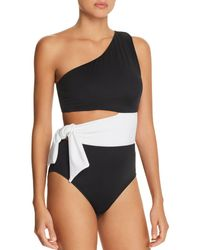Ralph Lauren - Lauren Bel Aire Cutout One-shoulder One Piece Swimsuit - Lyst