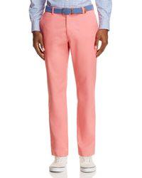 Vineyard Vines Breaker Slim Fit Trousers - Pink