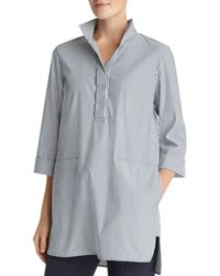 Lafayette 148 New York - Desirae Striped Tunic Top - Lyst
