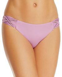 Dolce Vita - Macramé Hipster Bikini Bottom - Lyst