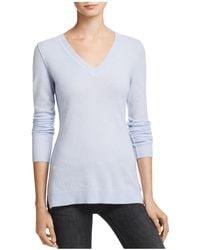 Aqua | Cashmere V-neck Sweater | Lyst