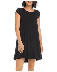 Karen Kane Maggie Trapeze Dress - Black