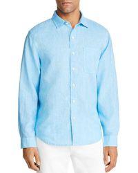 Tommy Bahama - Sea Glass Breezer Classic Fit Linen Shirt - Lyst