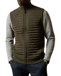 Ted Baker Rapids Quilted Gilet - Multicolor