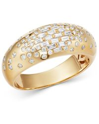 Meira T 14k Yellow Gold Diamond Ring - Metallic