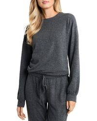 1.STATE Drawstring Sweatshirt - Grey
