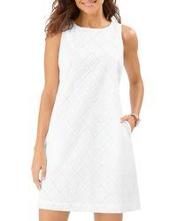 Tommy Bahama Villa View Cotton Sleeveless Dress - White