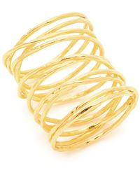 Gorjana - Lola Crisscross Wire Ring - Lyst