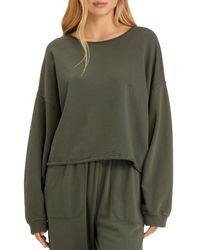 Sanctuary Perfect Sweatshirt - Green