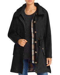 Pendleton Bodega Bay Hooded Trench Coat - Black