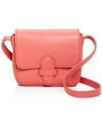 Olivia Clergue - Gisela Mini Leather Shoulder Bag - Lyst