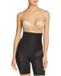 Tc Fine Intimates Tummy Tux High - Waist Thigh Slimmer Shorts - Black