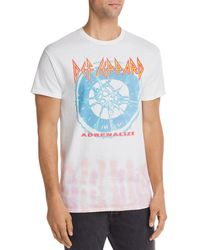 Junk Food Def Leppard Graphic Tee - Blue