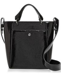 Elizabeth and James - Eloise Petit Patent Leather Crossbody Tote - Lyst