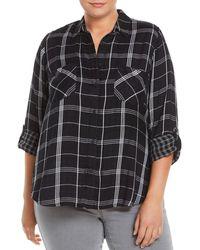 Lucky Brand - Boyfriend Plaid Shirt, - Lyst