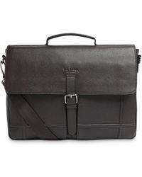 Ted Baker Leather Satchel - Brown