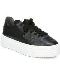 Sam Edelman Pippy Lace Up Sneakers - Black