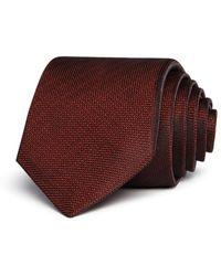 John Varvatos Birdseye Classic Tie - Red