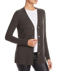 C By Bloomingdale's - Cashmere Grandfather Cardigan - Lyst