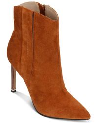 Kenneth Cole Riley High - Heel Western Booties - Brown