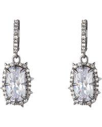 Alexis Bittar - Framed Crystal Cushion Drop Earrings - Lyst