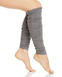 ToeSox Ava Leg Warmers - Grey