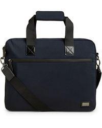 Ted Baker Trevoir Nylon Document Bag - Blue